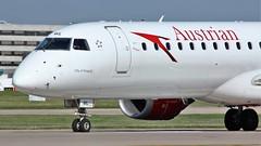 OE-LWL (AnDyMHoLdEn) Tags: austrian embraer lufthansagroup staralliance egcc airport manchester manchesterairport 23l