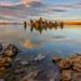Mono Lake October Sunset Reflection