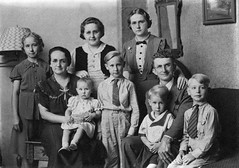 Lawrence and Mary Burch family