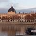 Hotel Dieu depuis les quais du Rhône, Lyon