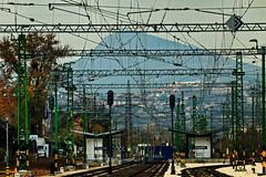 Railway station Angyalföld (DJ-Lerry von Kolossy) Tags: nagykevély angyalföld újpest vasútállomás raiwaystation rókahegy üröm