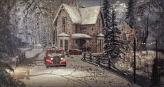 *It's too cold outside for Angels to fly* ❤️ (Ⓐⓝⓖⓔⓛ (Angeleyes Roxley)) Tags: cherishville sim sl secondlife winter snow explore outdoors nature
