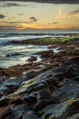 KonaSunsetVertical (Fog City Undercover) Tags: hawaii kona beach rocks ocean sky sunset