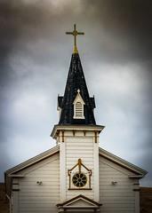 St Anthony's Church Steeple No 2 (CDay DaytimeStudios w /1 Million views) Tags: bluesky california church churchsteeple cloudy coastline highway1 pacificcoast pacificcoasthighway pescaderoca