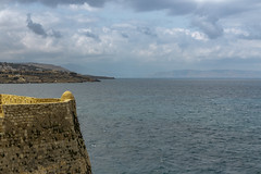 View From The Fortezza (Crisp-13) Tags: rethymno crete fortezza old town sea coast view