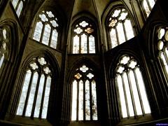 Monasterio de Cañas (santiagolopezpastor) Tags: espagne españa spain castilla rioja larioja medieval middleages monasterio monastery gótico gothic cister cisterciense ábside apse