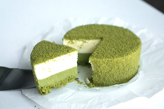 Matcha Double Fromage Cake