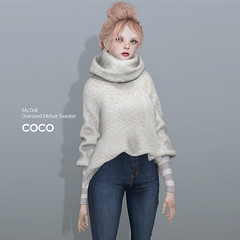 COCO My Doll : New Release (cocoro Lemon) Tags: coco doll bjd new sweater turtleneck mesh secondlife avatar fashion