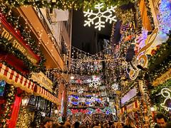 IMG_20181202_174550 (athanecon) Tags: christmas christmasmood athens downtown greece littlekook monastiraki psyrri lights citylights celebration christmaslights