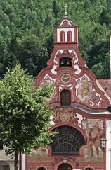 Fussen (Micheline Canal) Tags: allemagne bavière maison couleur église château paysage landscape water chutedurhin