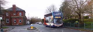 Ponteland ... Stagecoach to Newcastle, SN16 OZC
