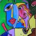 """All That Jazz"" by Cynthia B, mixed media, $80.00"