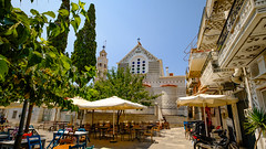 Pyrgi Village, Chios Island, Greece (Ioannisdg) Tags: ioannisdg settlement igp vacation ioannisdgiannakopoulos summer flickr travel chios pyrgi island gm greece castle village greek traditional pirgi gr greatphotographers ithinkthisisart