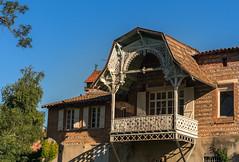 Muret.La maison Jeanne d'Arc de 1880. (sergeimbert) Tags: muret hautegaronne maison