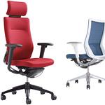 事務用回転椅子の写真