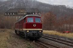 132 334 (nik Sentker) Tags: ddr diesel sonderzug städteexpress rosstrappe erfurt reichsbahn br232 russe ludmilla train thale ebs br132