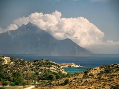 Greece (Sebastian Pier Filip) Tags: canon g16 pointandshoot pointnshoot landscape nature sea cloud aton beach beautiful