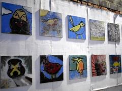 Birds (the justified sinner) Tags: justifiedsinner birds paint painting morecambe lancashire seaside winter town panasonic 17 20mm gx7