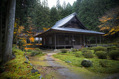 Raigo-in Temple in Ohara (DanÅke Carlsson) Tags: japan japanese temple raigoin ohara kyoto religion buddhism building fall autumn wood forest