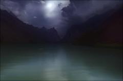 Quiete al crepuscolo  ... (Gio_guarda_le_stelle) Tags: dolomites dolomiten dolomiti evening dark peaceful boat abandoned quiete rumore i 4x4