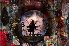 Graffiti 2018 (Philip L Hinton A.R.P.S.) Tags: art graffiti textured poetry dark