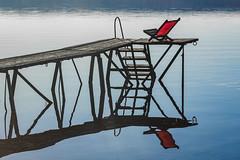 looked very inviting (hjuengst) Tags: ammersee yetty steg water see lake bavaria bayern deckchair liegestuhl reflection reflektionen spiegelung breitbrunn herrsching