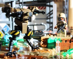 Support Drone V1 (WIP) (L.K Designs) Tags: lego robot legorobot scifi concept moc legomoc mech legomech legomilitary legospace