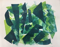 Forest and the Sun II 2018 Mets ja päike Aleksandr Osvald August von Turro-Lebardov EKA54 G11 10.11.2018(2) 2018-76 (aleksandroavtl) Tags: forest sun mets päike printmaking graphics graphic graphicart green yellow abstract abstractart paper woods trees nature sunlight mixing art contemporaryart artwork visualart estonia аъ contemporary colours colors abstractionism