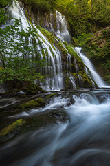Panther (kephart_kyle) Tags: august cliffs climb creek d800 falls landscape nikon panther person repel river summer teague washington waterfall