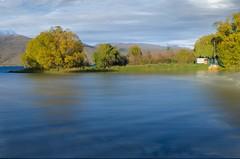 A little slice of kiwi (dave.fergy) Tags: tree autumn southisland2018 composite longexposure yacht boat calm reflection on1pics on1photoraw2019