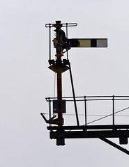 Broomfleet (robmcrorie) Tags: semaphore signal home bracket broomfleet