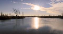 Kruibeke polder - Belgium (roland_tempels) Tags: water polder kruibeke belgium sun supershot landscape nature sky