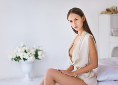Portrait (hoangcuongnokia8800) Tags: 500px femininity long hair comfortable serene people beauty relaxation comfort womanhood beautiful underwear sensuality off shoulder 2018 portrait girl model studio wbpa портрет девушка