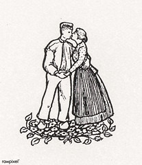 Woodcut monograms by Julie de Graag (1877-1924). Original from The Rijksmuseum. Digitally enhanced by rawpixel. (Free Public Domain Illustrations by rawpixel) Tags: antique art artwork character couple drawing handdrawn illustrated illustration illustrator juliedegraag kiss monograms old pdrijks publicdomain rijksmuseum sketch vintage woodcut