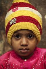 0877 The Serious Child (Hrvoje Simich - gaZZda) Tags: child portrait colorful cap yellow red varanasi india asia travel nikon nikond750 nikkor283003556 gazzda hrvojesimich