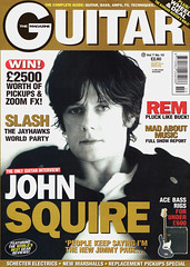 The Guitar Magazine, August 1997 - John Squire (Robson_Lee) Tags: guitar magazine 1997 uk john squire sehorses ian brown stone roses jimmy page scan music