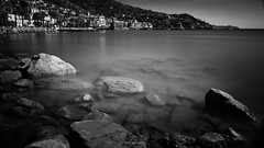 Inconsequential things occur (.KiLTRo.) Tags: kiltro it italia italy liguria rapallo exposure longexposure sea mar ocean océano water agua coast costa shore shorline seascape landscape city town