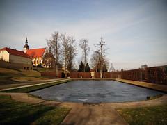 Kloster Neuzelle (bernstrid) Tags: kloster neuzelle brandenburg kirche park eis winter explore explorer