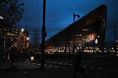 Rotterdam (miljanatomcic) Tags: rotterdam holland netherlands photography travel central station night amazing architecture