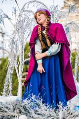 "Anna in ""A Christmas Fantasy"" Parade - Disneyland (GMLSKIS) Tags: disney disneyland anaheim nikond750 california themepark nikon"