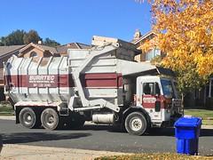 Amrep Front Loader (LaWestValleyAmrep) Tags: trucks truck trash recycle peterbilt recycletruck garbagetruck trashtruck amrep