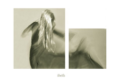 water's women (12) (ibethmuttis) Tags: ibeth water woman clothes movement artistic work diptych bw