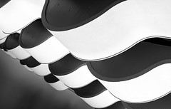 non interference (rainerralph) Tags: parquedasnações fe282470gm blackwhite architektur waves fassade lisboa schwarzweiss architecture sonyalpha facade sony balkon lissabon a7r3 portugal