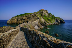 San Juan de Gaztelugatxe Stairs - filming location for HBO's Game of Thrones (Joshua Mellin) Tags: sanjuandegaztelugatxe gaztelugatxe san juan de bermeo biscay bay basque basquecountry bilbao spain spanish spanishbasquecountry gameofthrones dragonstone daenerys targaryen actress daenerystargaryen hbo show book books tv real life whereisdragonstoneinreallife reallife filming location locations filminglocaitons westeros history tour tours got finale season season8 stream joshuamellin joshmellin cnn travel cnntravel journalist writer photographer author josh joshua mellin instagram twitter media socialmedia verified iconic best photo photos pic pics picture pictures photograph photographs steps rocks stones 237