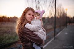 La mia vita (antoniopedroni photo) Tags: ritratto portrait baby woman russian bokeh sfocato samyang35mmfef14