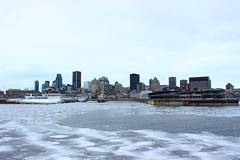 Montreal in winter (pegase1972) Tags: montreal québec quebec qc montréal hiver neige glace ice cold winter cityscape licensed exclusive getty canada