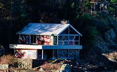 _DSC0906 (My Life According to Me) Tags: bowen island gulf islands ocean sonya6000 sony british columbia graffiti abandonned house rocks bluff