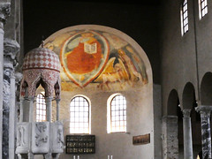 Grado (Verity Cridland) Tags: cathedral fresco apse pulpit