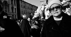 Culture vulture. (Baz 120) Tags: candid candidstreet candidportrait city contrast street streetphotography streetphoto streetcandid streetportrait strangers rome roma ricohgrii europe women monochrome monotone mono noiretblanc bw blackandwhite urban life portrait people italy italia grittystreetphotography faces decisivemoment