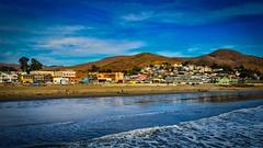 City of Cayucos Beach (CDay DaytimeStudios w /1 Million views) Tags: beach bluesky ca california cayucos city coastline highway1 landscape ocean pacificcoast pacificcoasthighway pacificocean sunset water wave